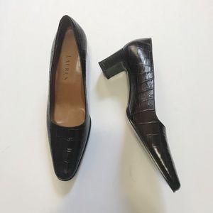 Vintage Ralph Lauren Leather Heels